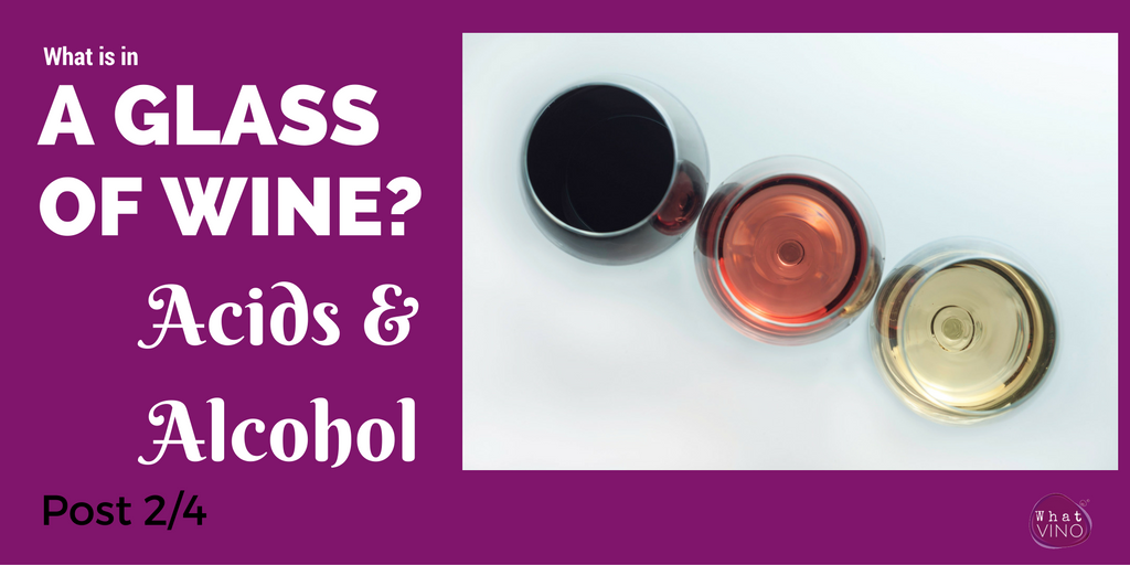 Alcohol and Acid in wine in What VINO Learning about Wine