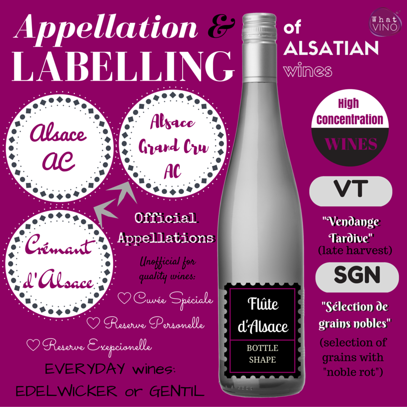 Alsace wine region Appellation and Labelling in What VINO wine regions