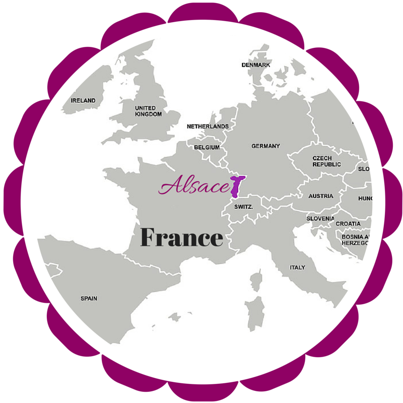 Alsace Map in What VINO wine regions